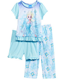 Disney's® Frozen 3-Pc. Pajama Set, Toddler Girls