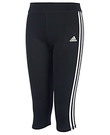 adidas Big Girls Capri Leggings