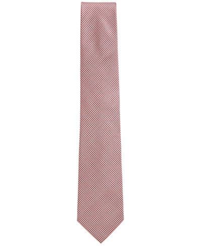 BOSS Men's Micro-Patterned Silk Tie
