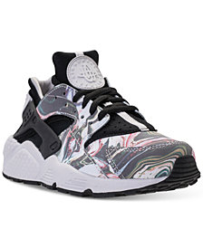 Nike Women's Air Huarache Run Premium Running Sneakers from Finish Line