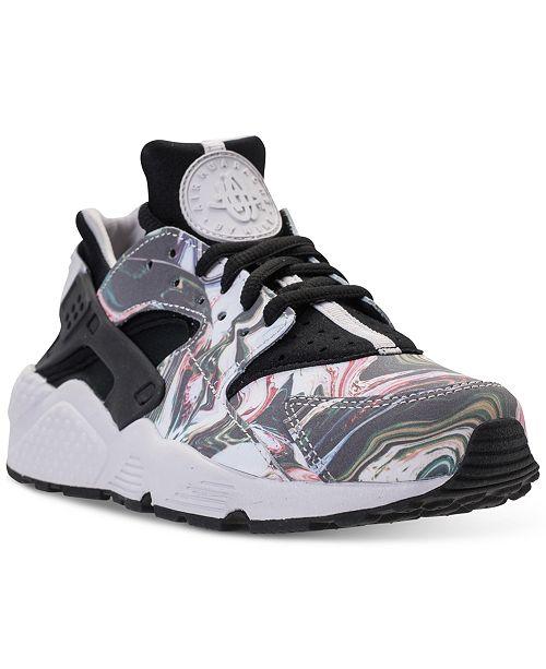 b1e13f060308c ... Nike Women s Air Huarache Run Premium Running Sneakers from Finish Line  ...