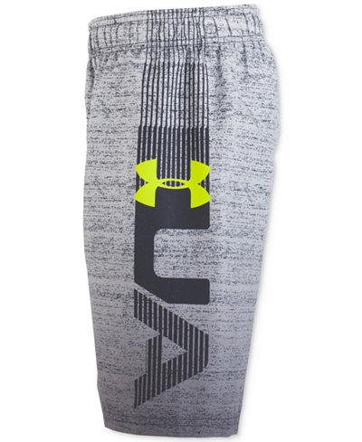 Under Armour Printed Dipper Volley Swim Trunks, Big Boys