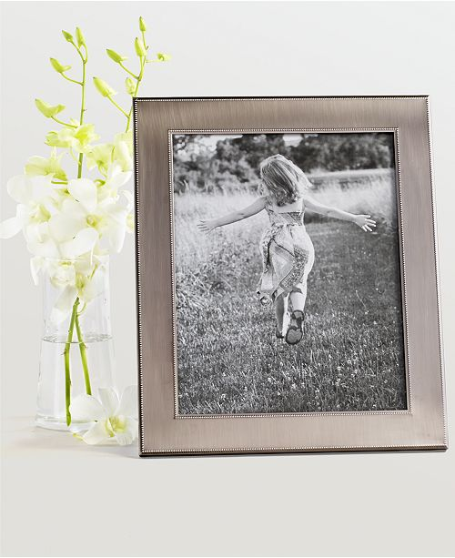 Martha Stewart Collection Brushed Metal 8 X 10 Frame Created For