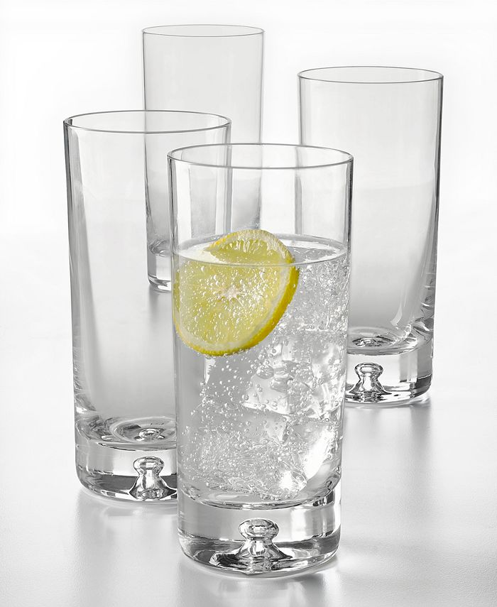 Hotel Collection - Bubble Highball Glasses, Set of 4