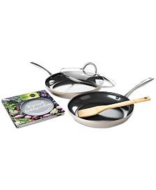 GreenPan 5-Pc. Limited Edition 10th Anniversary  Ceramic Non-Stick Cookware Set