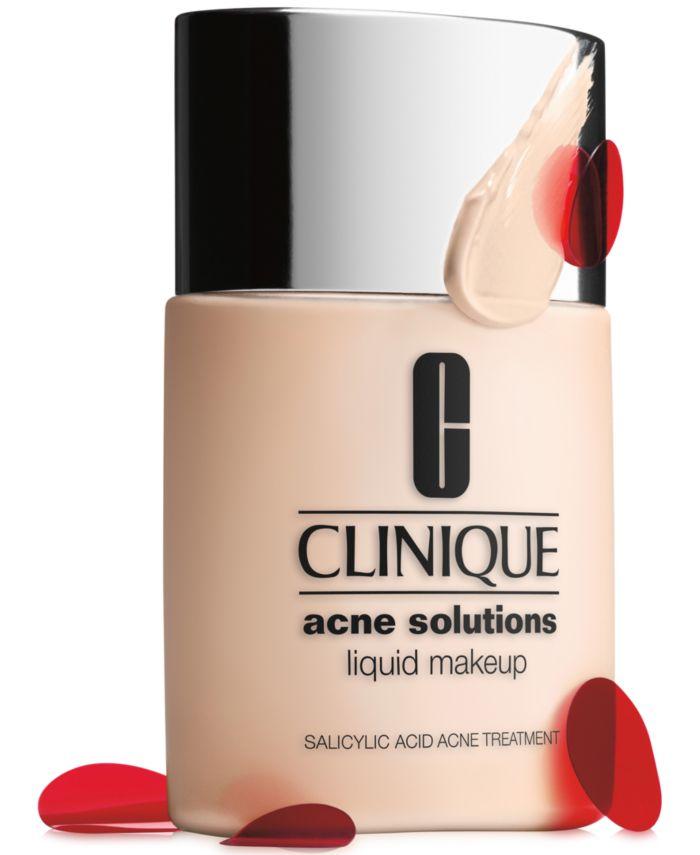 Clinique Acne Solutions Liquid Makeup Foundation, 1 oz & Reviews - Foundation - Beauty - Macy's