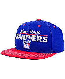 Outerstuff Boys' New York Rangers Team Vize Snapback Cap