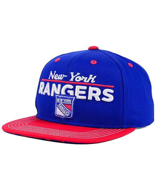 finest selection 991a8 3ffb1 Boys' New York Rangers Team Vize Snapback Cap