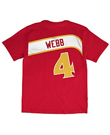 Mitchell & Ness Men's Spud Webb Atlanta Hawks Hardwood Classic Player T-Shirt