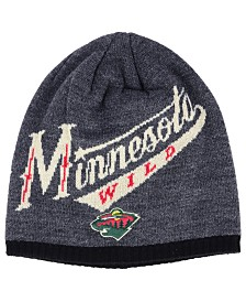 adidas Minnesota Wild Heather Beanie
