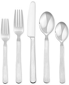 Skandia  Hampton Forge Birch 20-Pc. Flatware Set, Service for 4