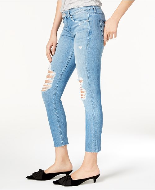 Sugarcoat Ripped Skinny Hudson Jeans Cropped Jeans Xqff5z