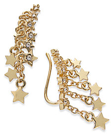 I.N.C. Gold-Tone Shooting Star Ear Climbers, Created for Macy's