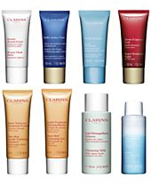 Fresh-Picked Gifts! Choose 2 FREE Travel Sizes with any $75 Clarins Purchase, Created for Macys!