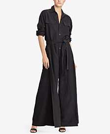 Polo Ralph Lauren Utility Wide-Leg Jumpsuit