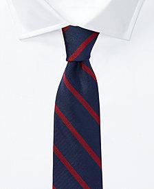 Lauren Ralph Lauren Men's Striped Silk Tie