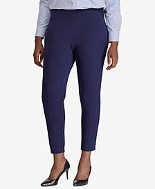 Lauren Ralph Lauren Plus Size Skinny Ankle Pants