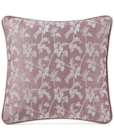 "Waterford Victoria 14"" x 14"" Decorative Pillow"