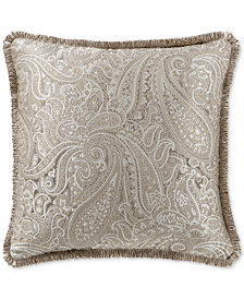 "Waterford Landon 18"" Square Decorative Pillow"