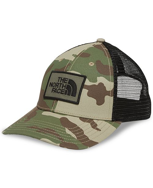 b33b22dd9d9046 The North Face Men's Camo Print Logo Hat & Reviews - Hats, Gloves ...