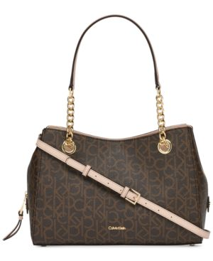 MARIE SIGNATURE SMALL SATCHEL