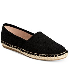 Charter Club Joeey Espadrille Flats, Created For Macy's