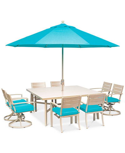 Beach House Outdoor 9-Pc. Dining Set (68