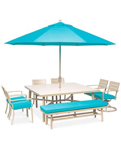 Beach House Outdoor 8-Pc. Dining Set (68