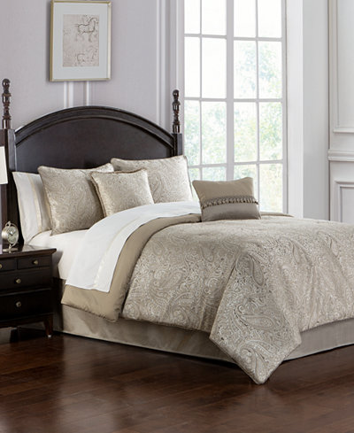 Waterford Landon Taupe Bedding Collection