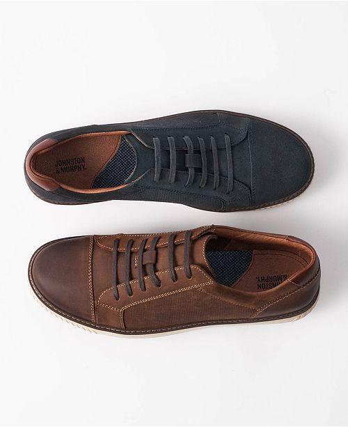 Johnston & Murphy Men's Walden Embossed Slip-On Sneakers Men's Shoes OEnnO1f