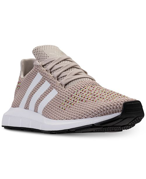 adidas Women s Swift Run Casual Sneakers from Finish Line   Reviews ... 47b432ee1