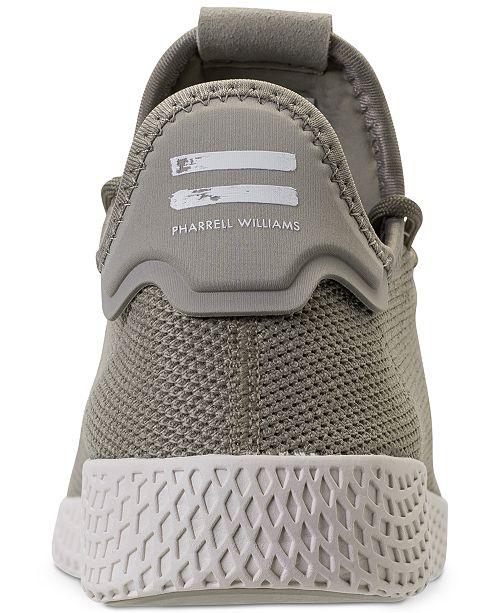 7a851031b6232 ... adidas Men s Originals Pharrell Williams Tennis HU Casual Sneakers from  Finish ...