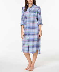 Lauren Ralph Lauren Plaid Sleepshirt