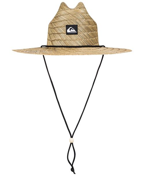faf7f277afd Quiksilver Men s Pierside Slim Straw Hat - Hats