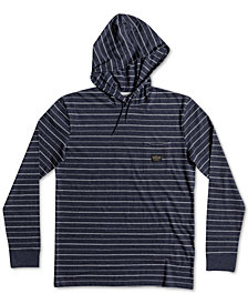 Quiksilver Men's Zermet Striped Knit Hoodie