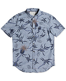 Quiksilver Men's Tropical Denim Button-Down Shirt