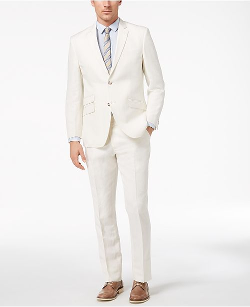 Mens White Suit IQtu