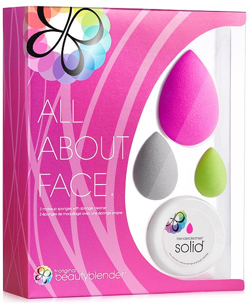 beautyblender 4-Pc. all.about.face Set