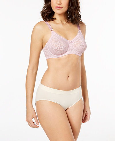 Bali Comfort Lace Bra & One Smooth U Hipster