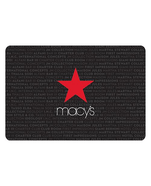 Macy's Private Brands E-Gift Card