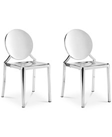Zarena Dining Chair (Set Of 2), Quick Ship