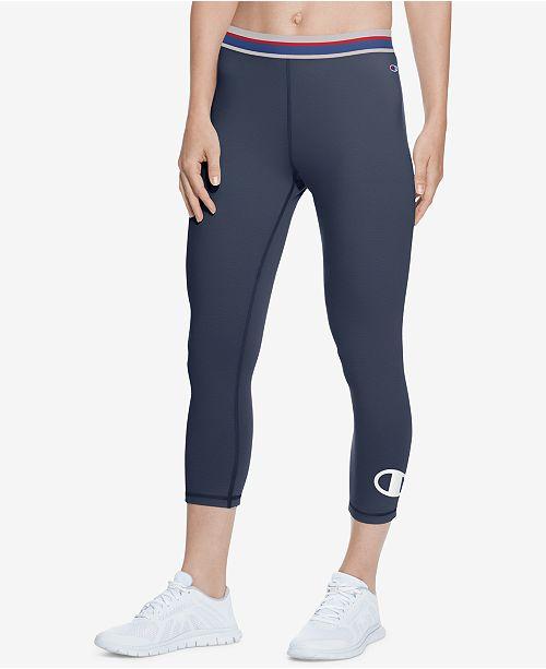 Champion Capri Leggings Reviews Pants Leggings Women Macy S