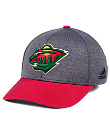 adidas Minnesota Wild Shortside Flex Cap