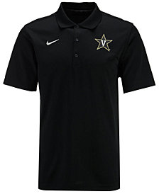 Nike Men's Vanderbilt Commodores Varsity Team Logo Polo