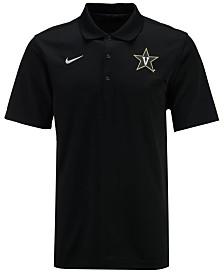 Nike Men's Vanderbilt Commodores Varsity Team Logo Polo