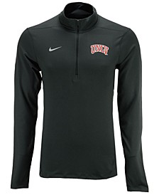 Men's UNLV Runnin Rebels Solid Dri-FIT Element Quarter-Zip Pullover