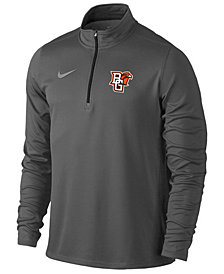 Nike Men's Bowling Green Falcons Heather Dri-FIT Element Quarter-Zip Pullover