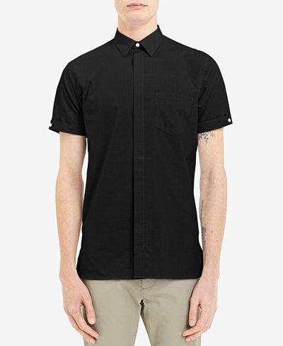Calvin Klein Men's Check Pocket Shirt, Created for Macy's