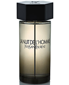 Yves Saint Laurent Men's La Nuit de L'homme Eau de Toilette Spray, 6.7 oz.