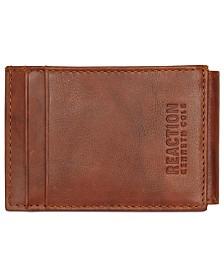 Kenneth Cole Reaction Men's Crunch Magnetic Front-Pocket Leather Wallet